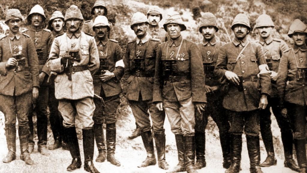 Enver Paşa, Liman von Sanders, Mustafa Kemal