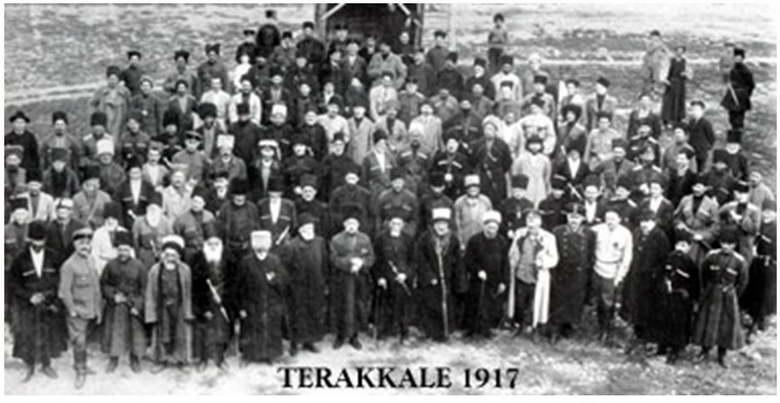 Kuzey Kafkasya Cumhuriyeti (1917-1920)