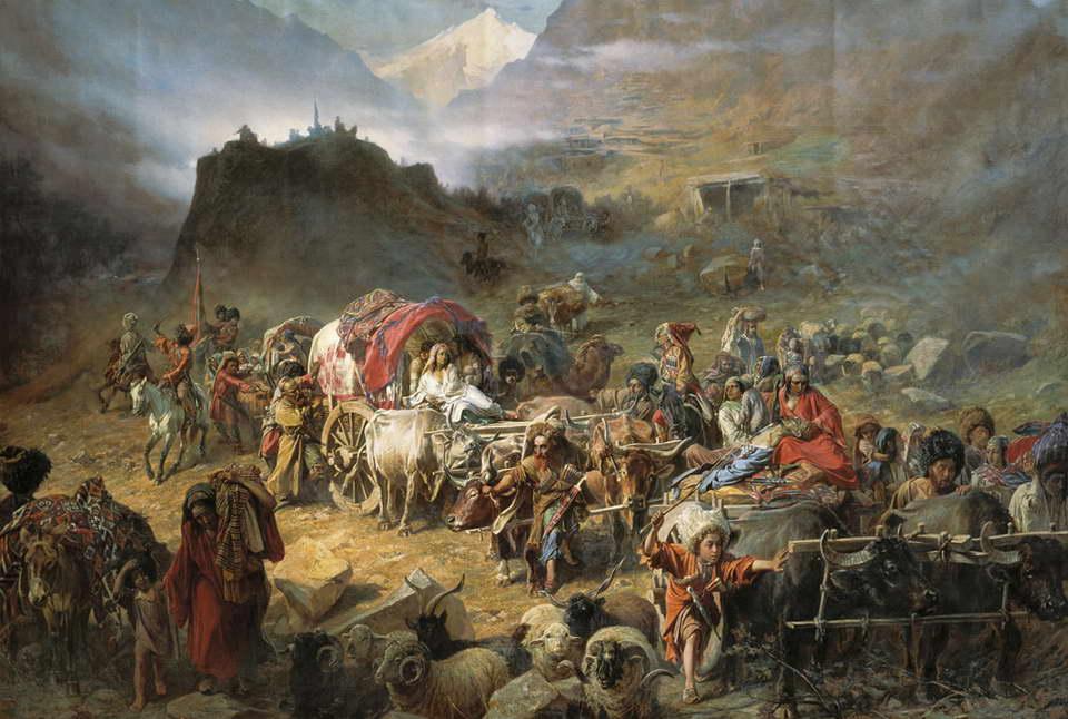 Tarihte Çerkes-Gürcü İlişkileri