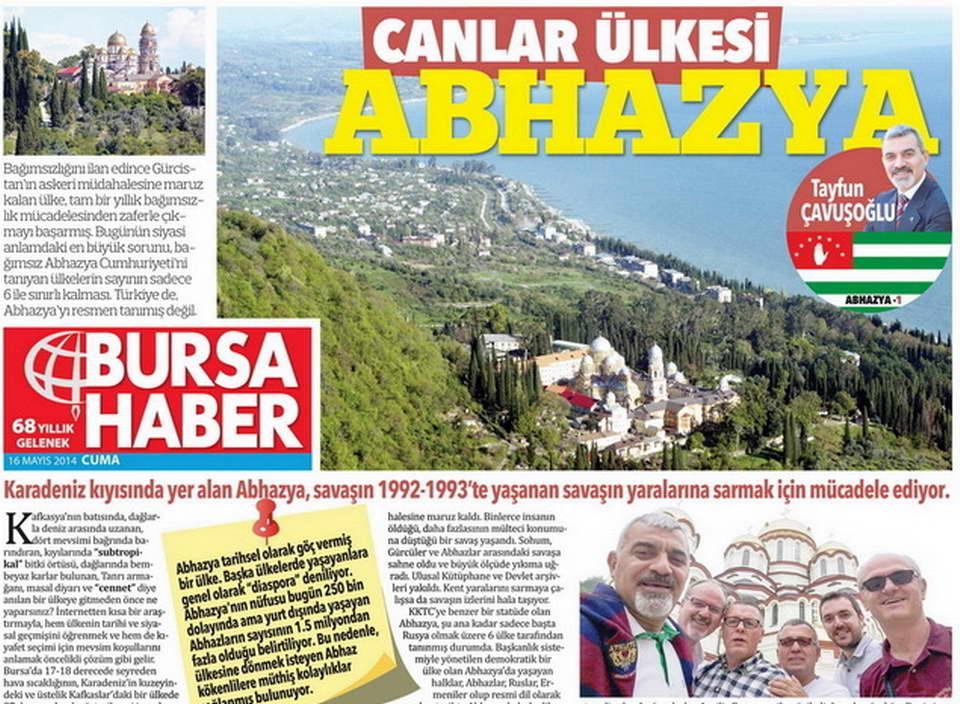Canlar ülkesi Abhazya (1)