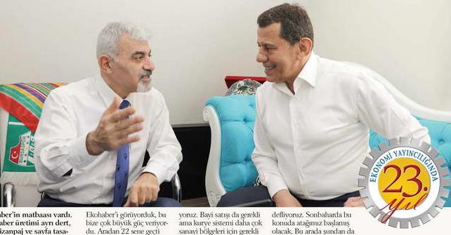 Bursa'nın tarihteki ilk gazete web sitesi: ekohaber.com.tr