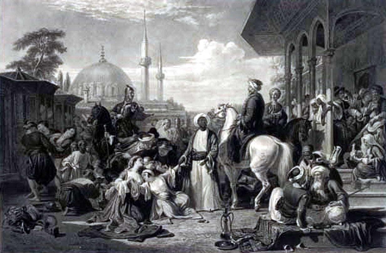 Çerkes ve Gürcü köle ticaretinin yasaklanışı (1845-1855)