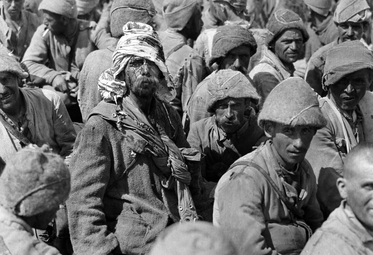 1. Dünya Savaşı'nda İngilizlere esir düşen Osmanlı askerleri