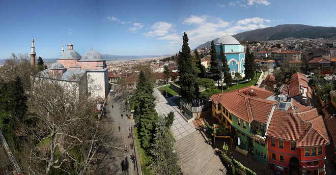 Bursa'nın simge yapısı: Yeşil Türbe