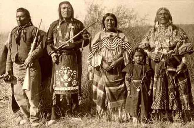 Kızılderililer ve Ön Türkler