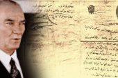 Atatürk'ün Musul, Süleymaniye ve Kerkük'le İlgili Bir Mektubu