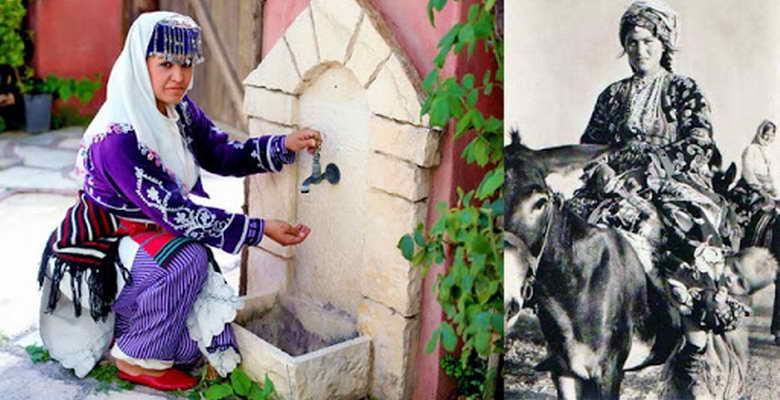 Yörük kadınının mor cepkeni… Kadın haklarının simgesi